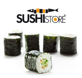 Vaschetta di sushi per il take away
